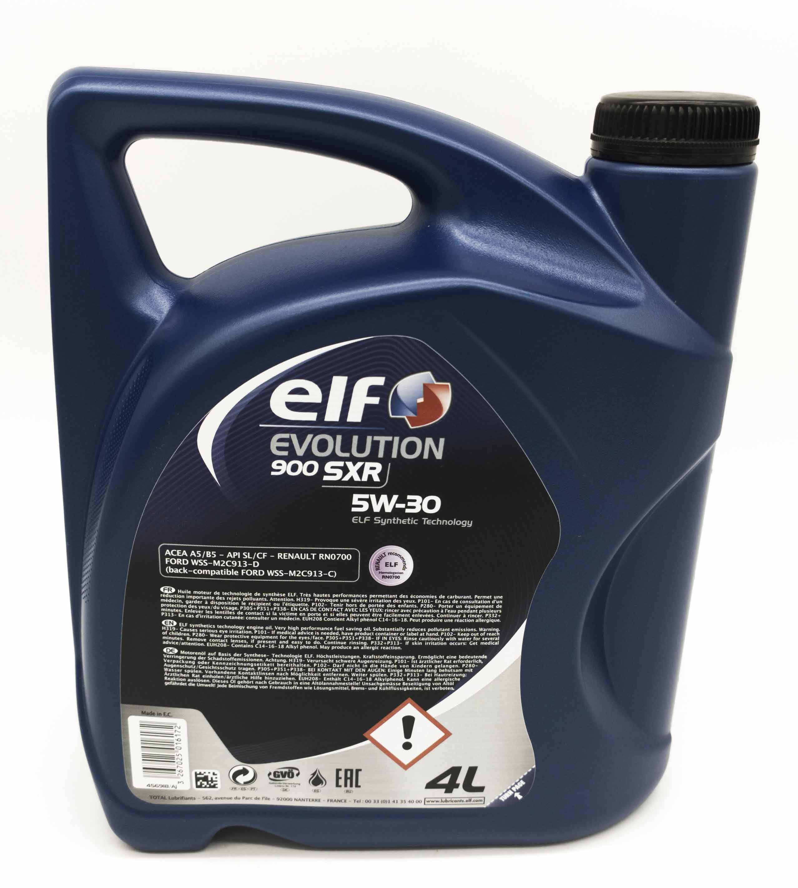 OLEJ ELF 5W-30 EVOLUTION 900 SXR 4L