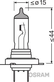 Żarówka, reflektor dalekosiężny OSRAM 64210NL-HCB