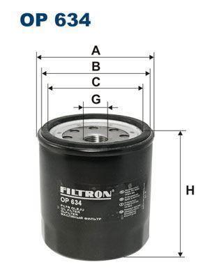 Filtr oleju FILTRON OP 634